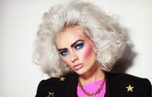 80s makeup