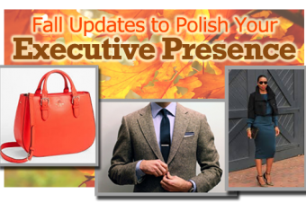 Fall Updates to Polish Your Executive Presence