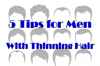 Five Tips for Men With Thinning Hair