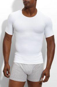 Best Shapewear Spanx Zoned Performance Compression Crewneck T-Shirt