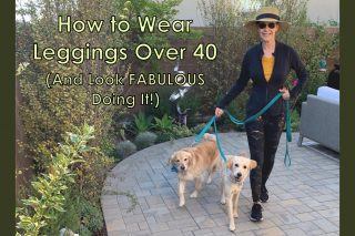 How to Wear Leggings Over 40 (And Look Fabulous Doing It)