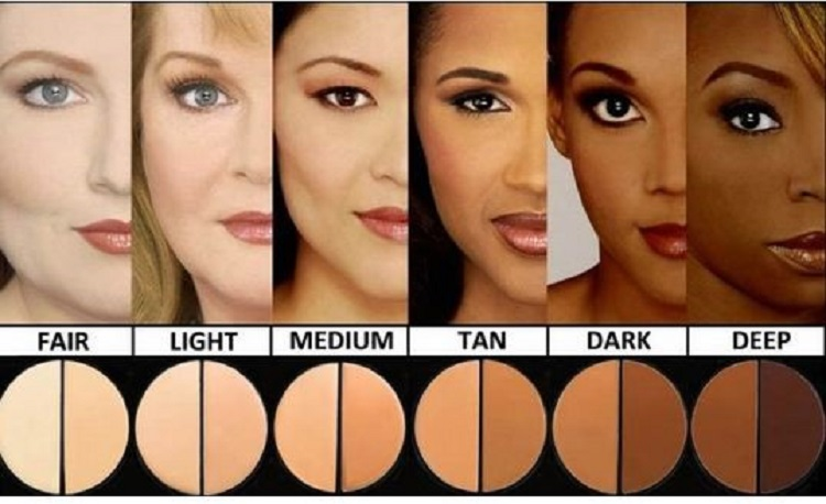 Many different types of foundation makeup