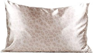 Kitsch Satin Pillowcase in Leopard Print