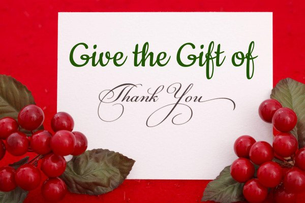 Give the Gift of Thank You